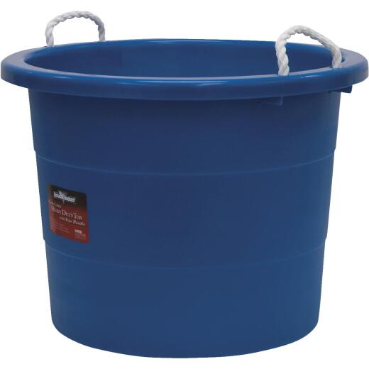 United Solutions 19 Gal. Blue Utility Tub