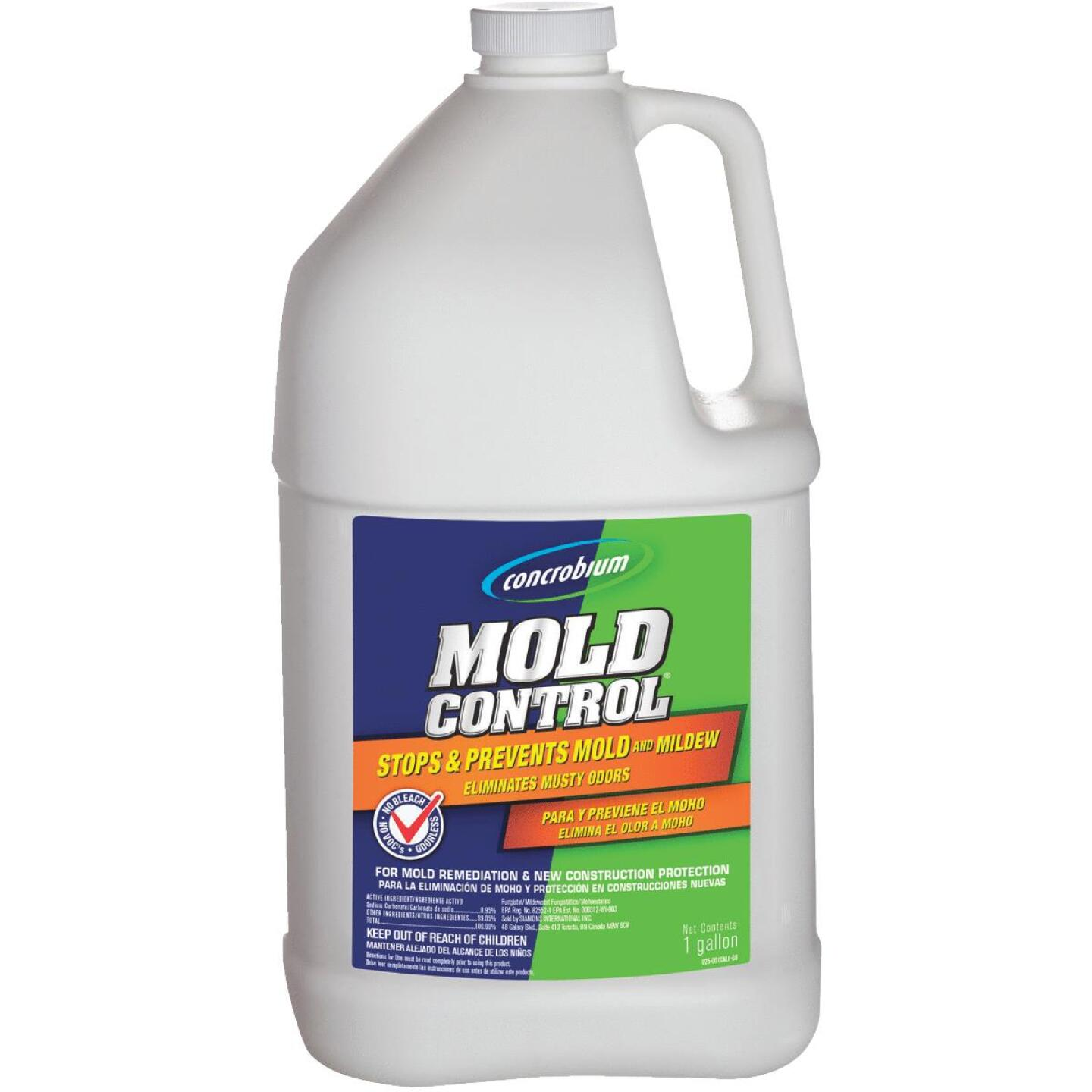 Concrobium Mold Control 1 Gal. Stops & Prevents Mold & Mildew Inhibitor - California Image 1