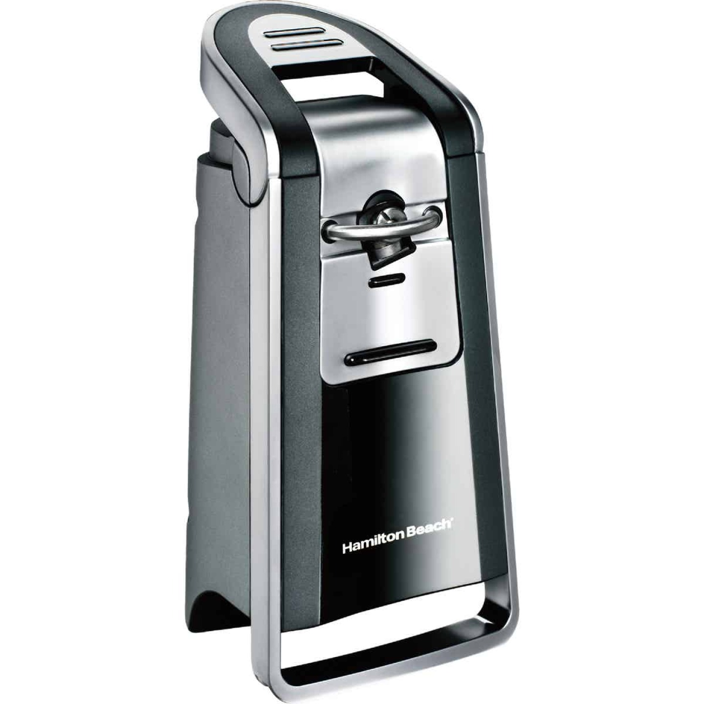Hamilton Beach Smooth Touch Chrome Electric Can Opener Image 1