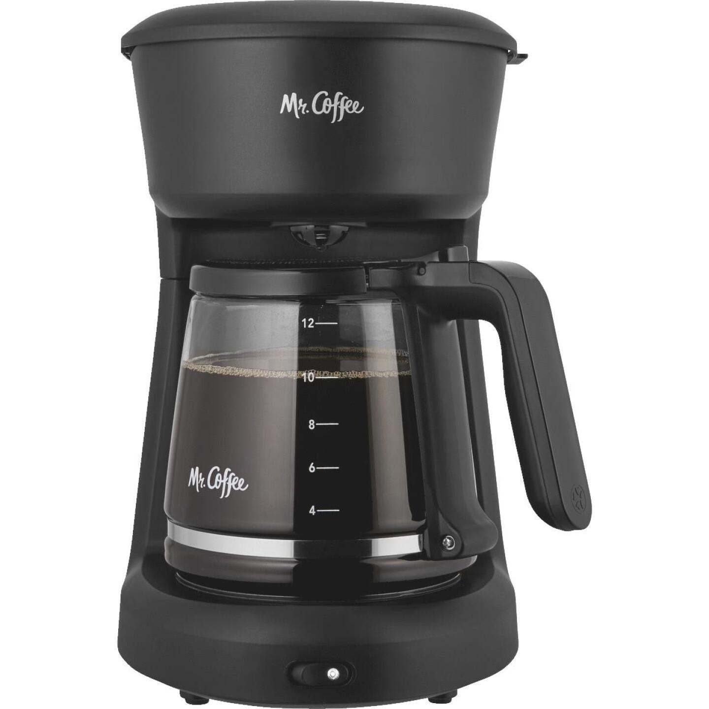 Mr Coffee 12 Cup Switch Black Coffee Maker Image 1