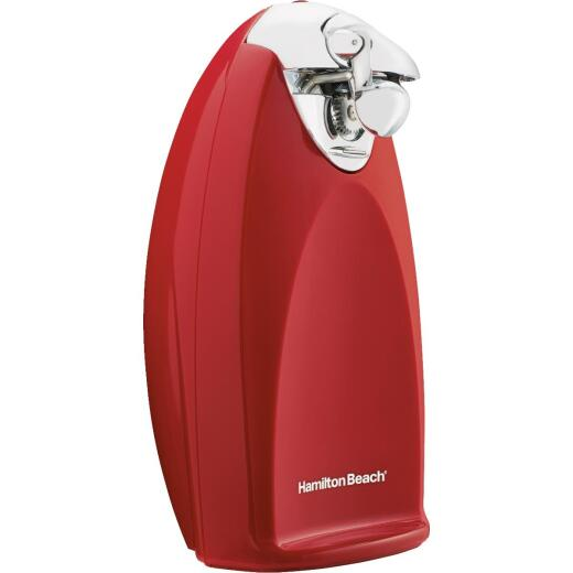 Hamilton Beach SureCut Red Electric Can Opener