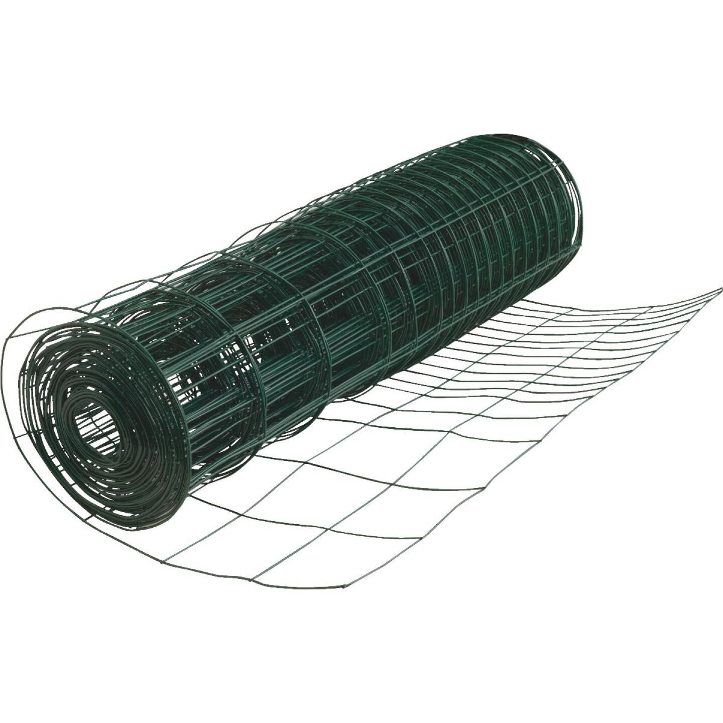 Do it 28 In. H. x 50 Ft. L. Galvanized Wire Garden Fence, Green Image 1