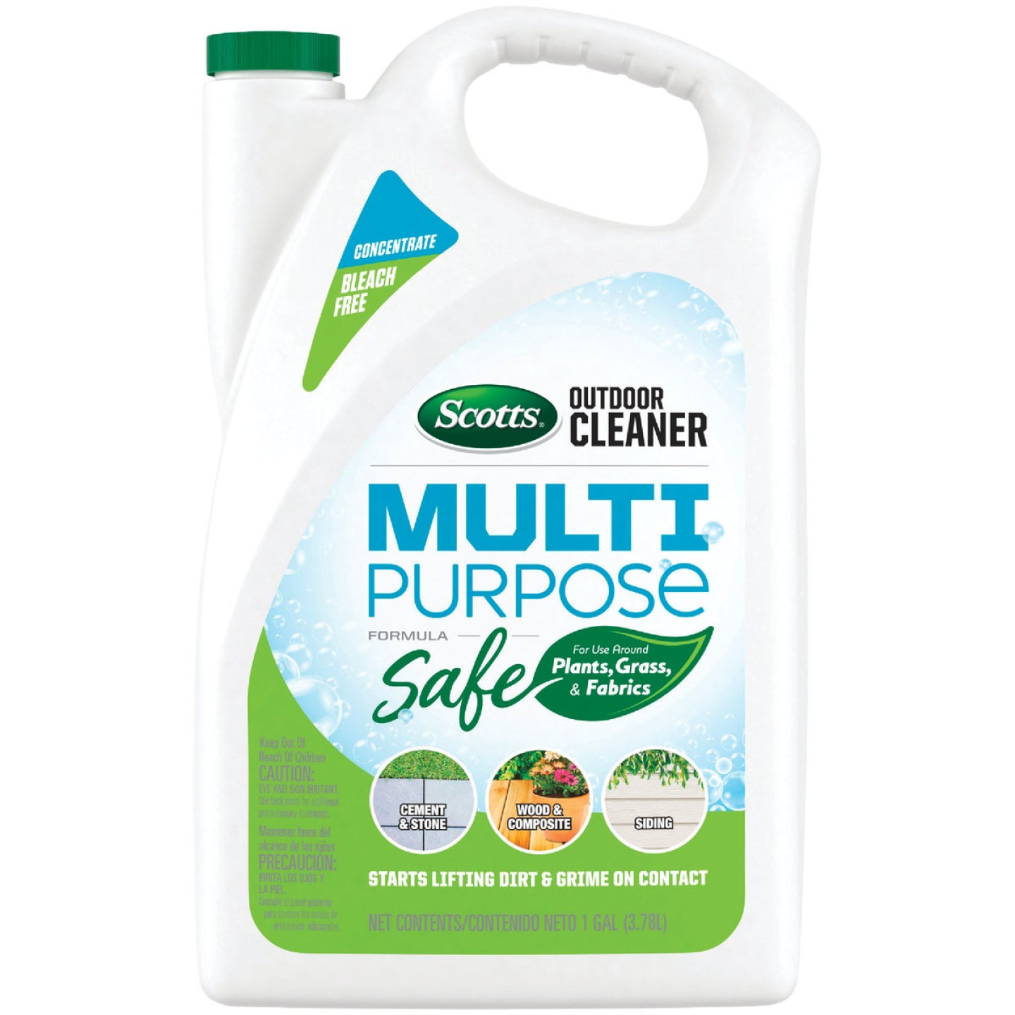 Scotts 1 Gal. Concentrate Multi Surface Outdoor Cleaner Plus OxiClean Image 1