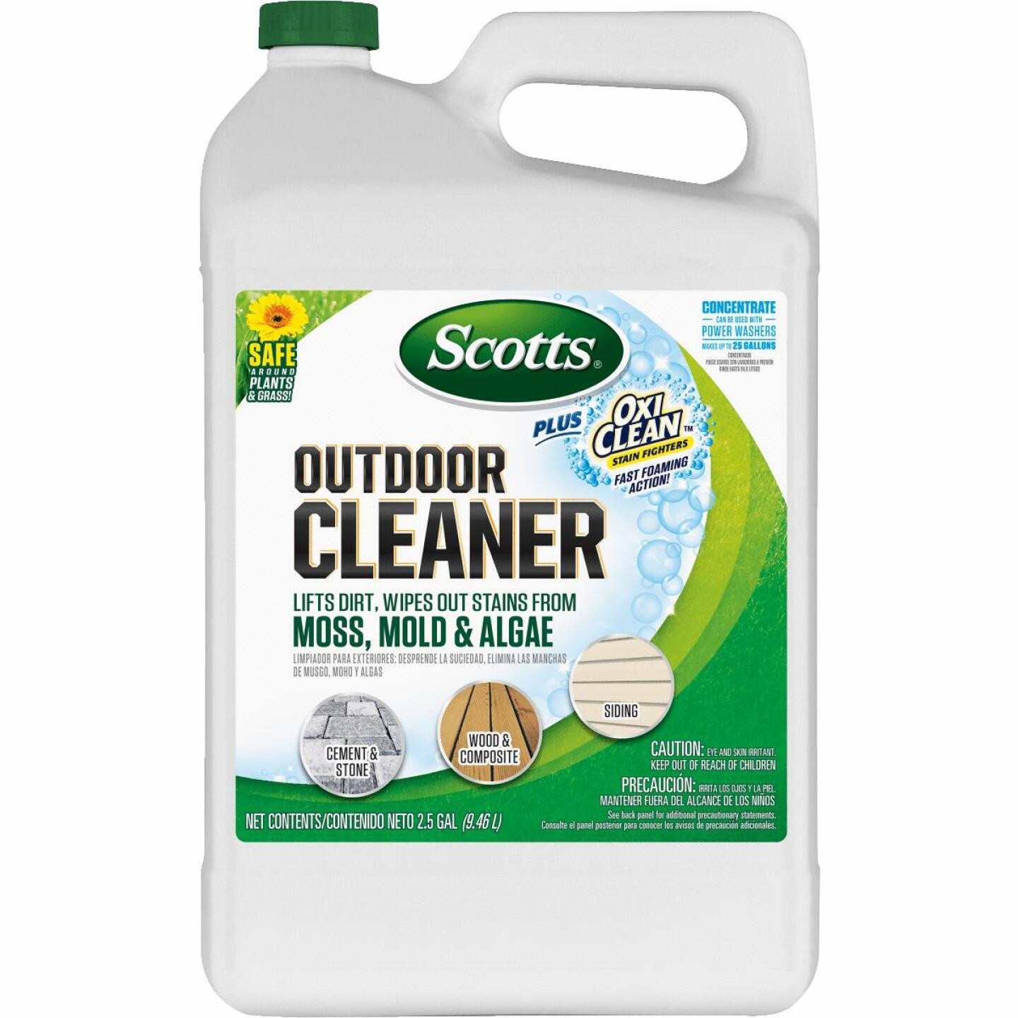 Scotts 2.5 Gal. Concentrate Multi Surface Outdoor Cleaner Plus OxiClean Image 1