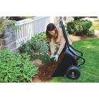 Marathon 3.5 Cu. Ft. Poly Wheelbarrow Image 2