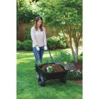 Marathon 3.5 Cu. Ft. Poly Wheelbarrow Image 3