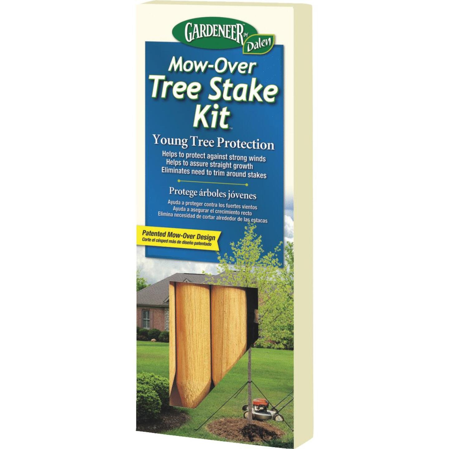 Gardener Wood Young Tree Tree Stake Kit Image 1
