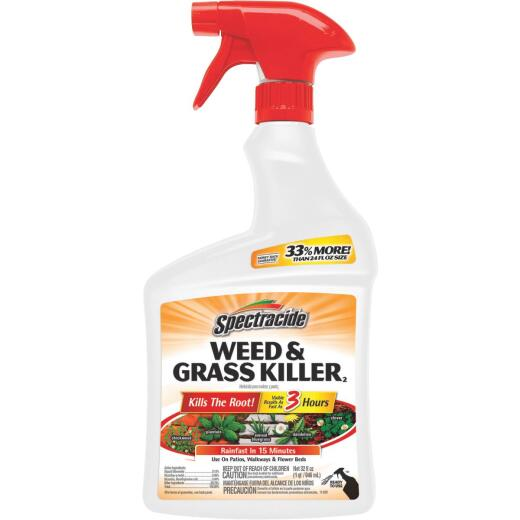 Spectracide 32 Oz. Ready To Use Trigger Spray Weed & Grass Killer
