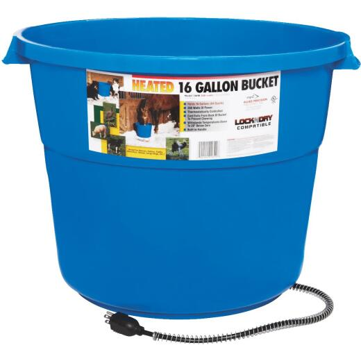 API 16 Gal. 60W 120V Heated Bucket