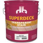 Duckback SUPERDECK Transparent Exterior Stain, Mission Brown, 5 Gal. Image 1