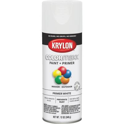 Krylon ColorMaxx White 12 Oz. All-Purpose Spray Paint Primer