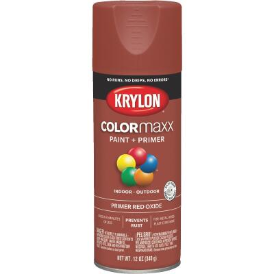 Krylon ColorMaxx Ruddy Brown 12 Oz. All-Purpose Spray Paint Primer