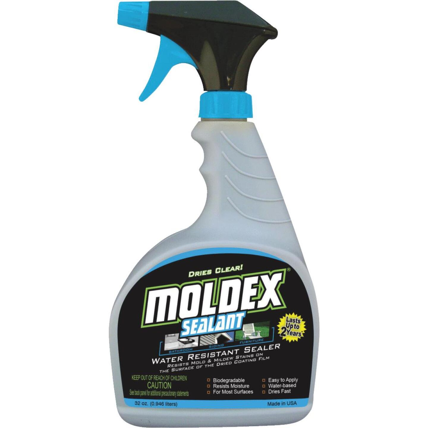 Moldex 32 Oz. Trigger Spray 125 Sq. Ft. Coverage Algae & Mold Protectant Image 1