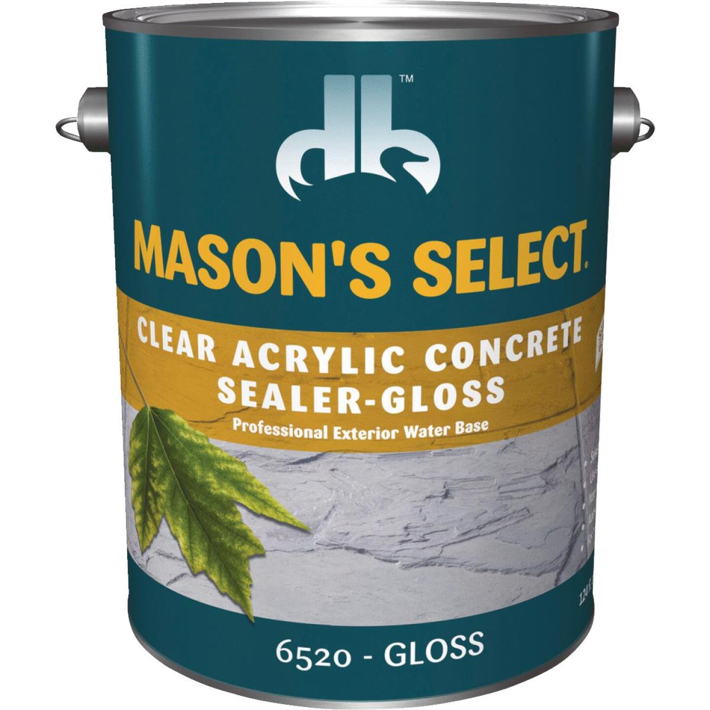 Duckback Mason's Select Clear Gloss Concrete Sealer, 1 Gal. Image 1