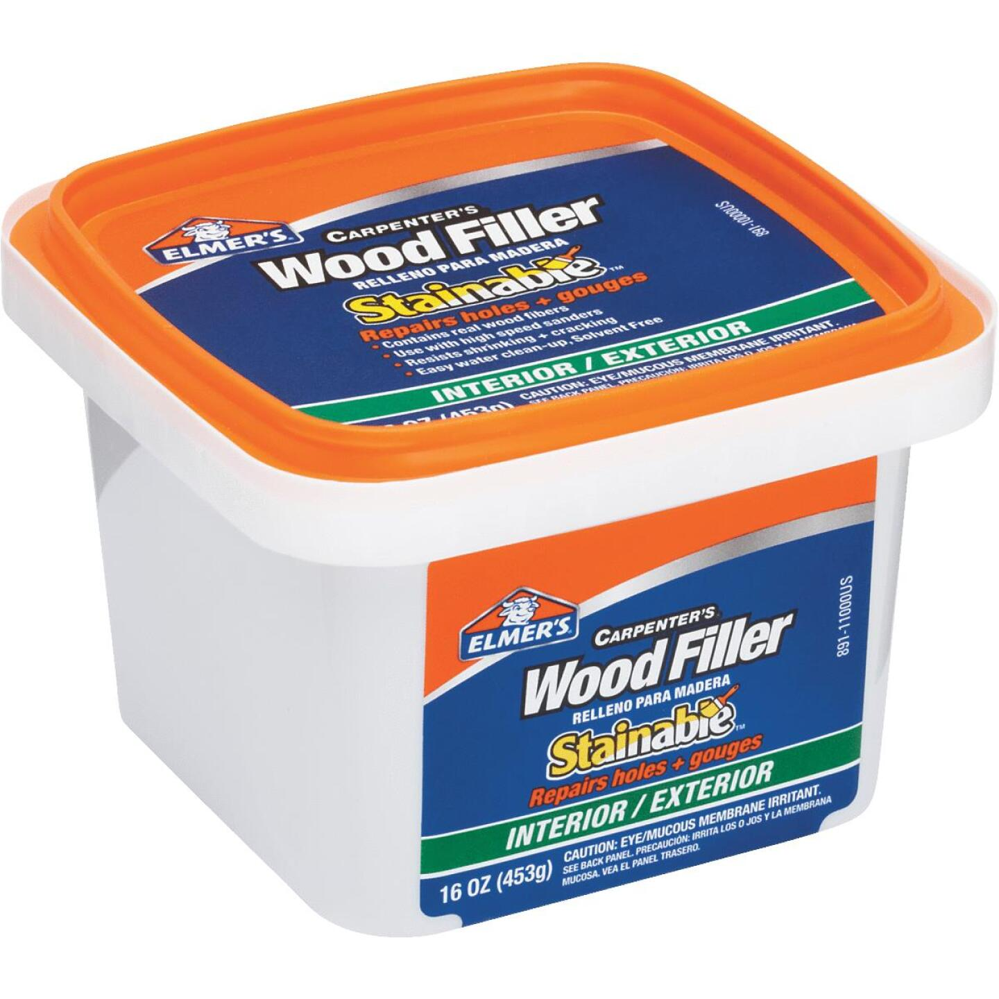 Elmer's Stainable Light Tan 16 Oz. Wood Filler Image 3