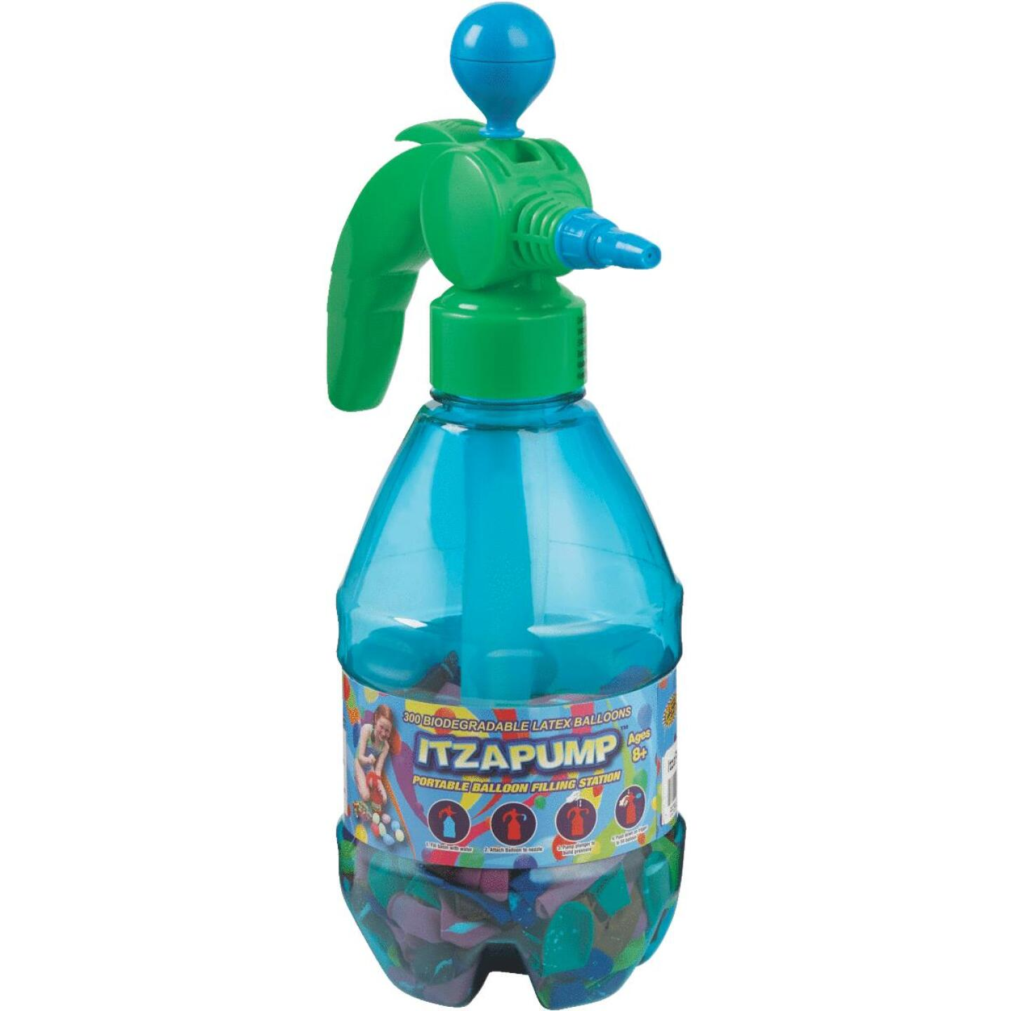 Water Sports ItzaPump Water Balloon Pump with 300 Balloons Image 1