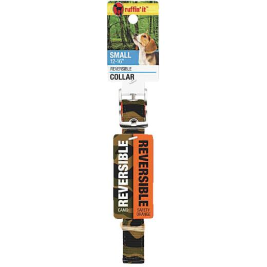 Westminster Pet Ruffin' it Reversible 12 In. to 16 In. Nylon Dog Collar