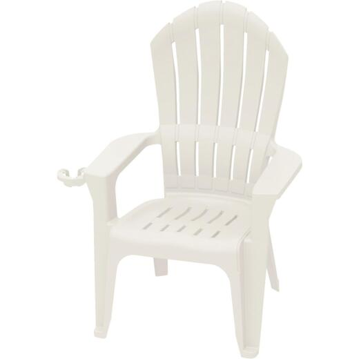 Adams Big Easy White Resin Adirondack Chair