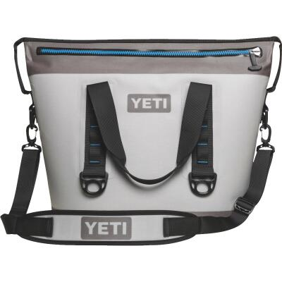 Yeti Hopper Two 30 Gray Soft-Side Cooler (23-Can)