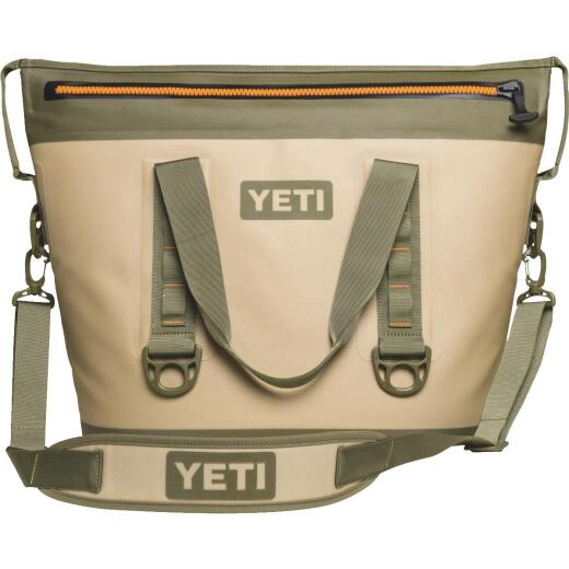Yeti Hopper Two 30 Tan Soft-Side Cooler (23-Can)