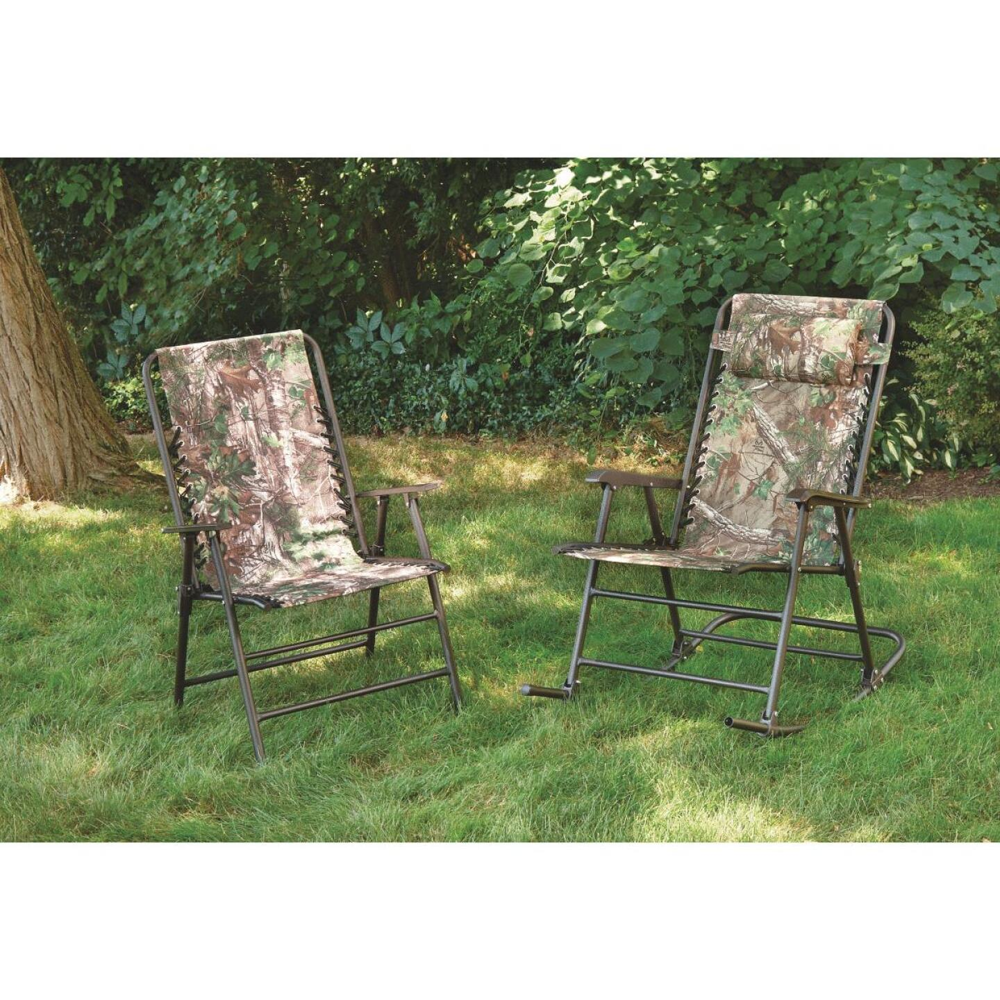 RealTree Camo Oxford Folding Chair Image 2