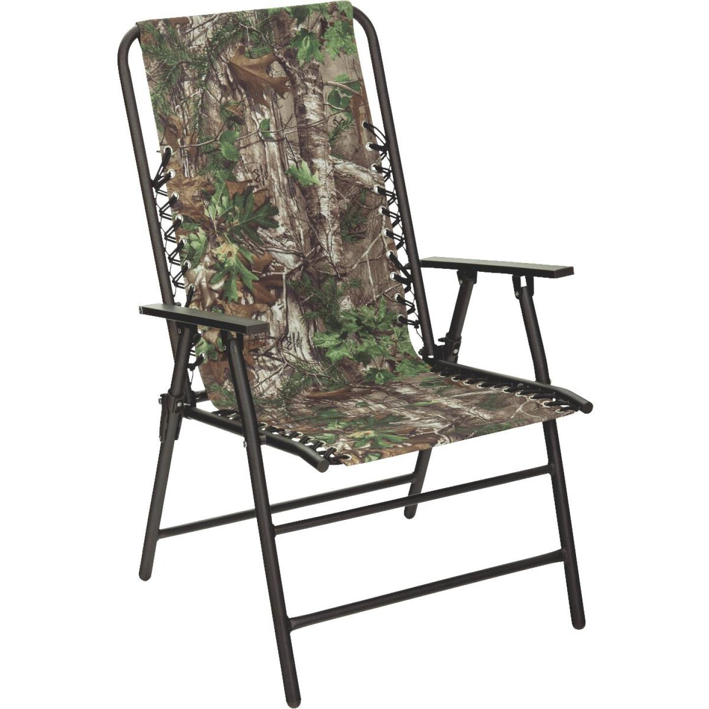 RealTree Camo Oxford Folding Chair Image 1