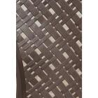 Adams Big Easy Earth Brown Woven Resin Stackable Chair Image 3