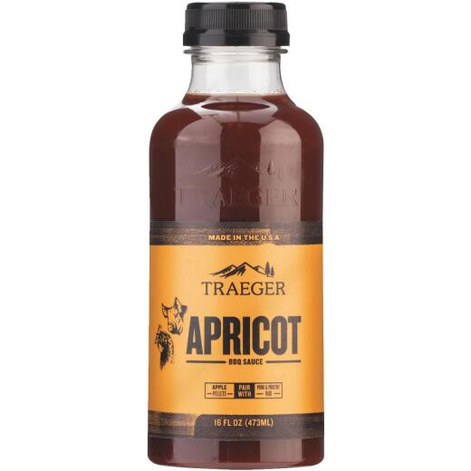 Traeger 16 Oz. Apricot Flavor Beef, Poultry & Pork Barbeque Sauce