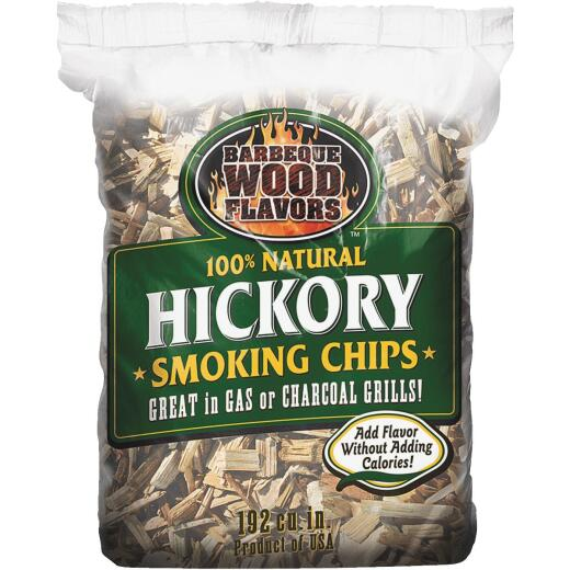 Barbeque Wood Flavors 2.25 Lb. Hickory Smoking Chips