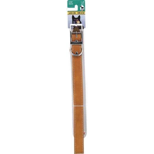 Westminster Pet Ruffin' it Hunting 24 In. Leather Dog Collar