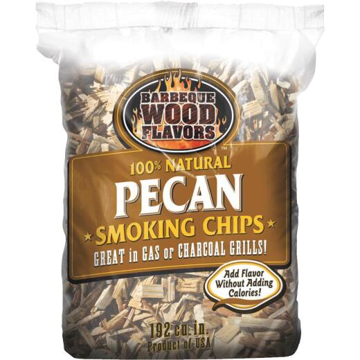 Barbeque Wood Flavors 2.25 Lb. Pecan Smoking Chips