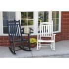 Knollwood Black Wood Mission Rocking Chair Image 4