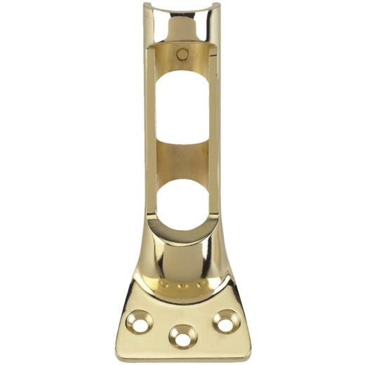 Valley Forge 1-Postion 1 In. Brass-Plated Flag Pole Bracket
