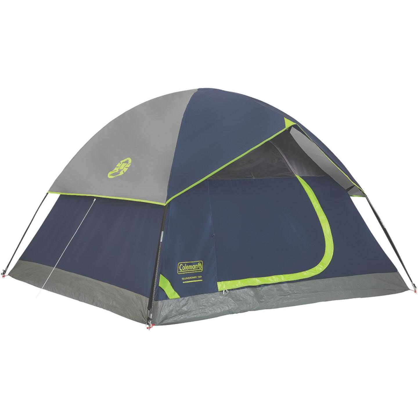 Coleman 3-Person 7 Ft. W. x 7 Ft. L. Dome Tent Image 1