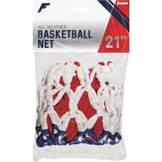 Franklin Hourglass Red, White, & Blue All Weather Basketball Net