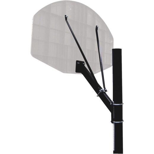 Huffy Sports Adjustable Backboard Mounting Basketball Pole