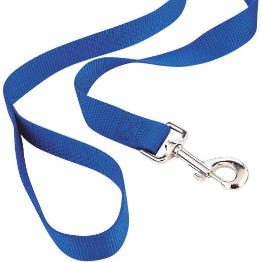 Westminster Pet Ruffin' it 6 Ft. Red, Black, or Blue Nylon Dog Leash