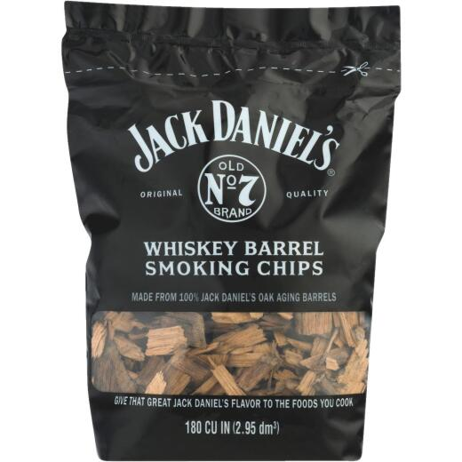 Jack Daniels 2.1 Lb. Whiskey Barrel Wood Smoking Chips