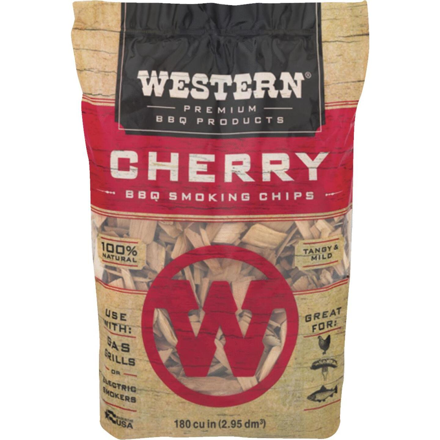 Western 2 Lb. Cherry Wood Smoking Chips Image 1