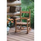 Knollwood Natural Wood Child Rocking Chair Image 3